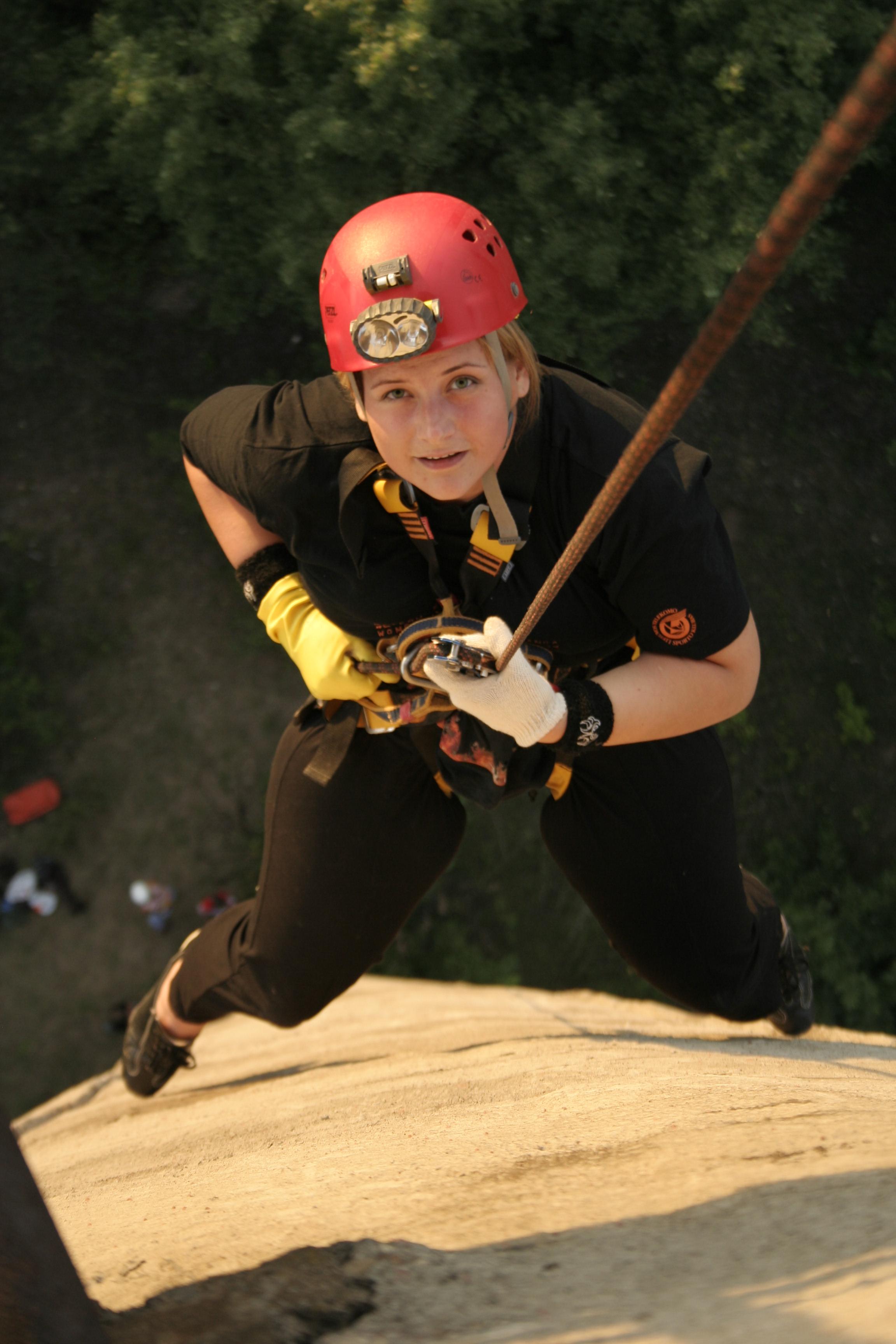 Treniruotė ant bokšto